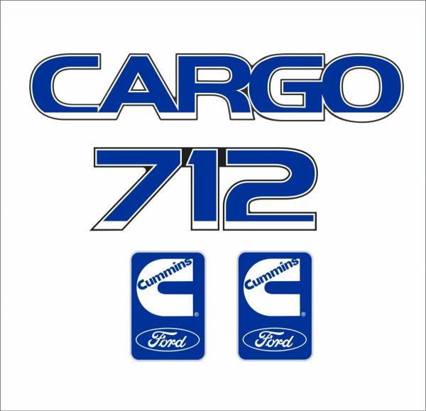 Caminhão FORD/CARGO 712