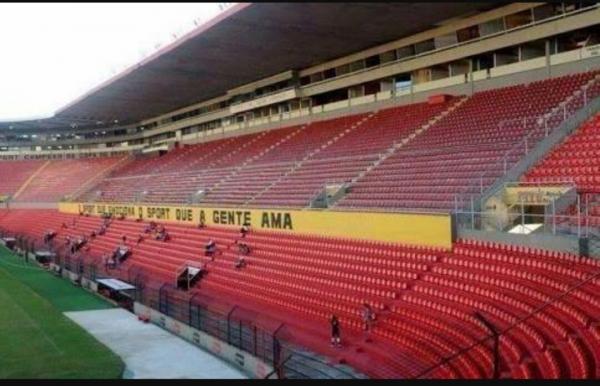 13 Cadeiras Estádio SPORT CLUB DO RECIFE