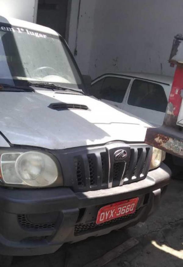 Veículo Mahindra