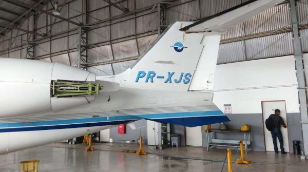Aeronave Learjet 60 PR-XJS